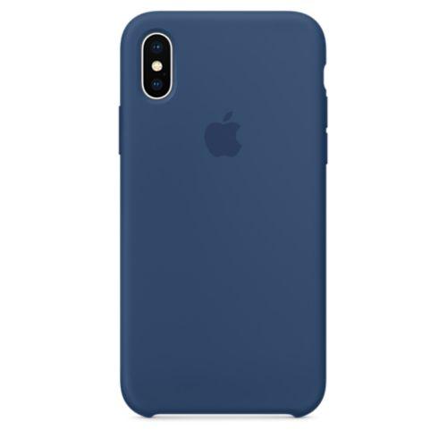 iPhone X シリコーンケース