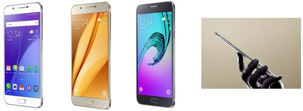 サムスン、au2015年冬モデル「Galaxy A8」を12月中旬発売――au史上最薄6.0mm、5.7インチ/フルHD/有機EL