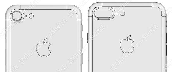iPhone 7 / 7 Plusの図面がリーク、突起カメラは継続か