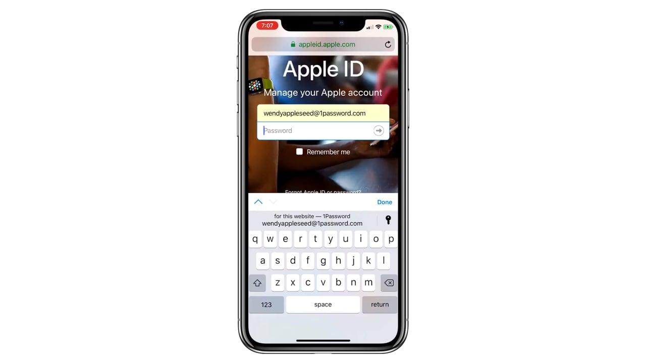 iOS 12、アプリを起動することなくパスワードの自動入力が可能に