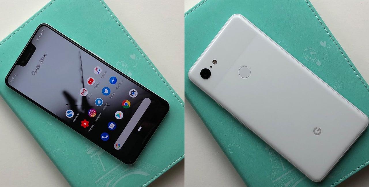 Pixel 3のデザイン・カラー