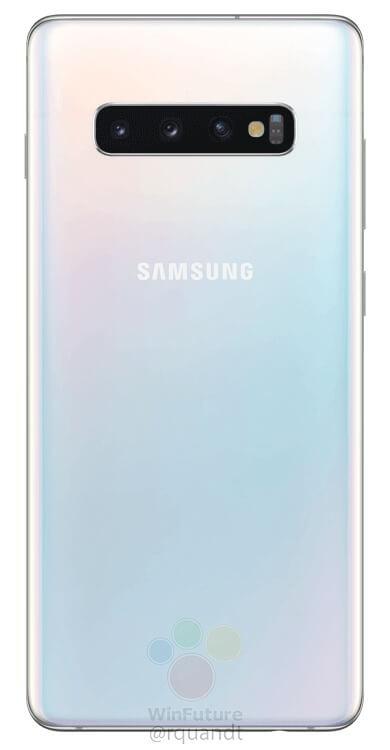 Galaxy S10+ Back