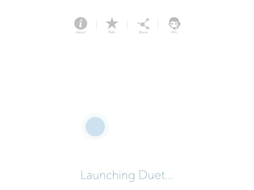 「Launching Duet…」が表示されたまま動かない不具合