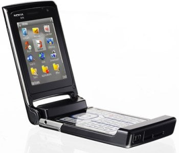 ノキア、250分動画登録ができる「Nokia N76」を発表。