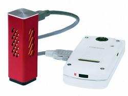 7月に発表された燃料電池充電器